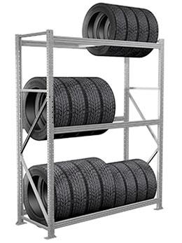 Стеллажи для шин и колес