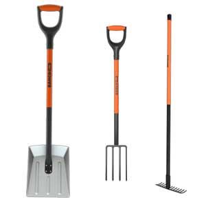 Лопаты, грабли, вилы