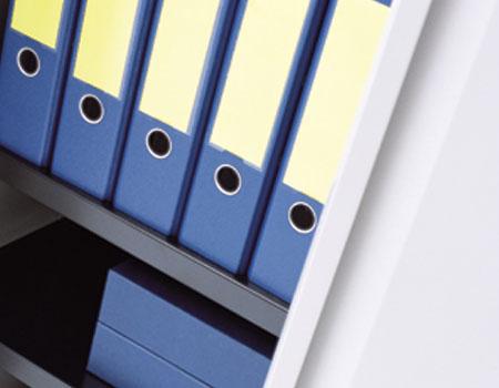 Металлический шкаф для документов