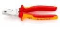 Плоскогубцы комбинированные особой мощности, 180 мм Knipex 02 06 180 0