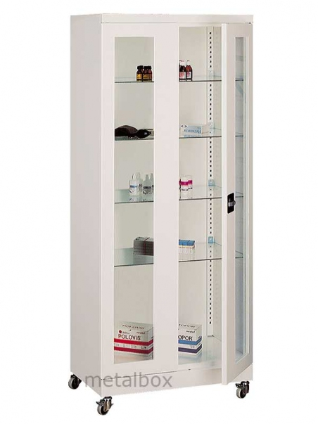 Шкаф металлический медицинский Sml 102