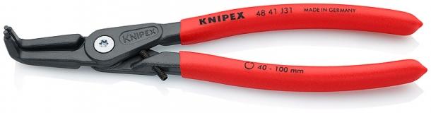 Прецизионные щипцы для внутренних стопорных колец в отверстиях KNIPEX 48 41 J31
