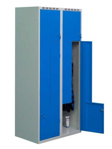 Четырёхдверный металлический одежный шкаф Sul 42