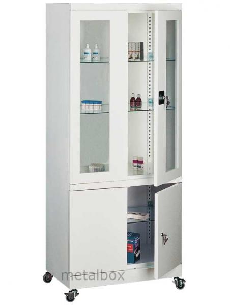 Шкаф металлический медицинский Sml 104