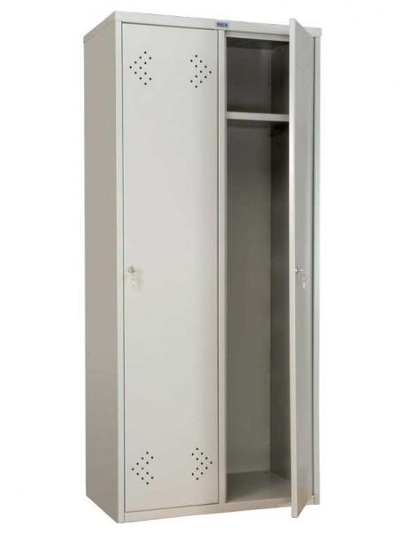Шкаф для одежды металлический ПРАКТИК LS-21-80
