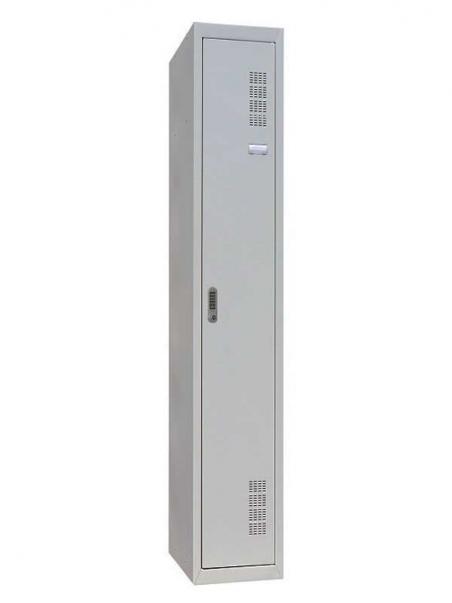 Шкаф одежный металлический ШОМ-300/1 EL