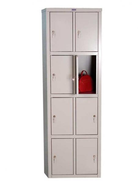 Шкаф для одежды металлический ПРАКТИК LS-24