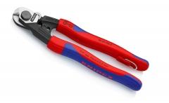 Ножницы для резки проволочных тросов кованые со страховочным креплением KNIPEX 95 62 190 T