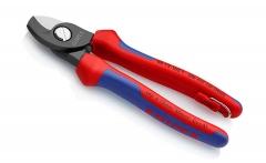 Ножницы для резки кабелей со страховочным креплением KNIPEX 95 12 165 T