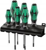 Набор отверток Wera Kraftform Plus TORX® + подставка 367/6, 05028062001