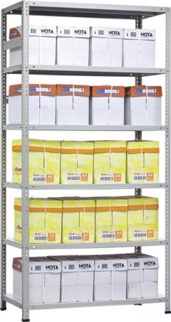 Стеллаж металлический ПРАКТИК MS MS HARD 250/100х30/3