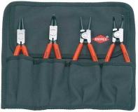 Комплект щипцов для стопорных колец Knipex, 00 19 56