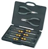 Набор плоскогубцев для электроники для работ с электронными компонентами Knipex, 00 20 18 ESD