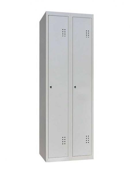 Шкаф одежный металлический ШОМ-400/2