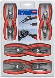 Набор прецизионных щипцов для стопорных колец Knipex, 00 20 04 SB