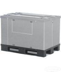 Контейнер пластиковый 700 на полимерном поддоне с крышкой