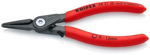 Прецизионные щипцы для внутренних стопорных колец в отверстиях KNIPEX 48 31 J0
